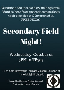 Secondary Field Night